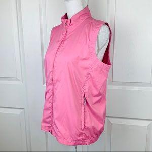 Adidas Climaproof Windproof Waterproof Pink Vest